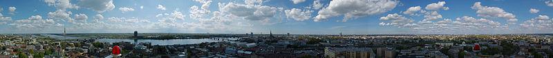 Panorama fra Rådhustårnet