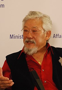 the right stuff by david suzuki Home / community / david suzuki talks environment  david suzuki talks environment, politics during green party event  and he's not doing the right stuff.