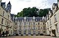 Rigny-Ussé Château d'Ussé Cour d'Honneur 1.jpg