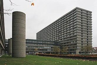 Rigshospitalet - Image: Rigshospitalet Copenhagen 2005 11