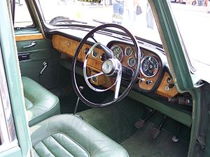 Riley 4 - Instrument panel Riley 4 / Seventy Two sports saloon