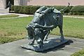 Ringling Museum Lygea tied to the bull by Giuseppe Moretti Sarasota Florida.jpg
