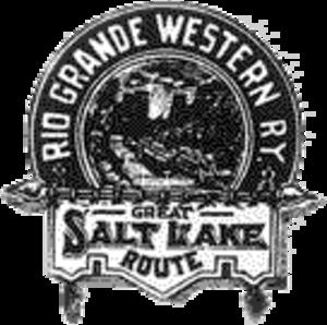 Utah Division (D&RGW) - Image: Rio Grande Western logo (1880s)