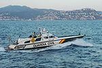 Rio Ulla (Rodman 55) leaving the port of Empuriabrava 080810 1.jpg