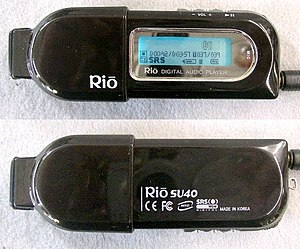 Rio (digital audio players) - Rio su40