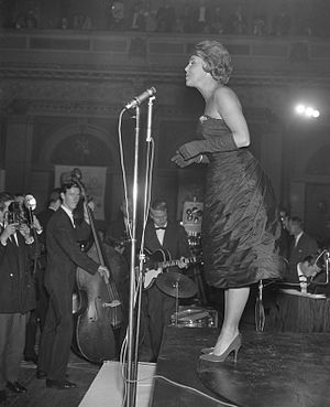 Rita Reys - Reys at the Concertgebouw Amsterdam, 1960)