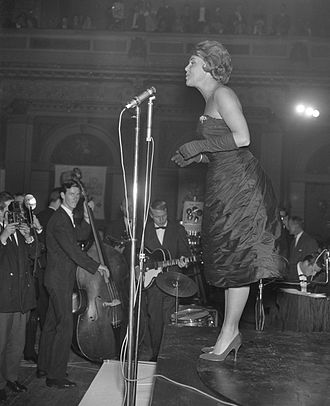 Rita Reys - Reys at the Concertgebouw Amsterdam, 1960)