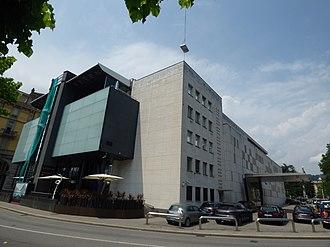 Casinò Lugano - Image: Riva Giocondo Albertolli, Lugano Casino Lugano