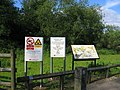 River Rea Walkway signs - geograph.org.uk - 175075.jpg