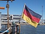 Roald Amundsen flag Port of Tallinn 14 July 2017.jpg