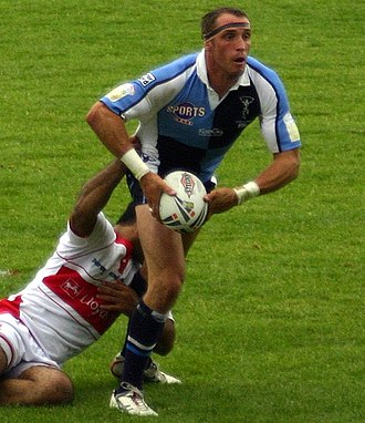 Rob Purdham - Purdham in action for Harlequins
