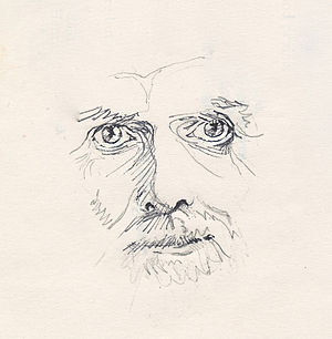 Robert Adams (spiritual teacher) - Sketch of Robert Adams in 1996.