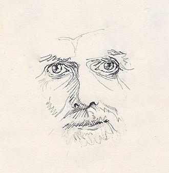 Robert Adams (spiritual teacher) - Sketch of Robert Adams in 1996.