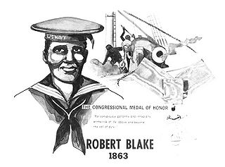 Robert Blake (Medal of Honor) United States Navy Medal of Honor recipient