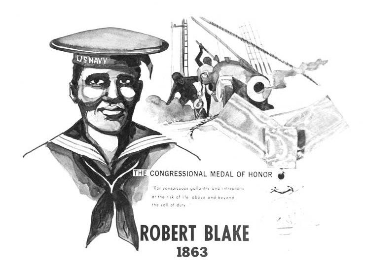 Robert Blake (MOH) poster