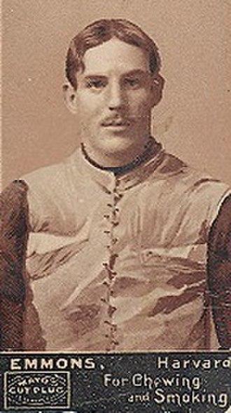 Robert Emmons - 1894 Mayo tobacco card