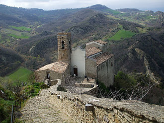 Roccascalegna - Church of San Pietro
