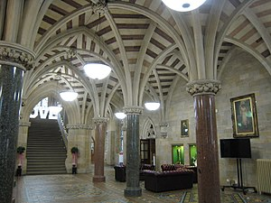 Rochdale Town Hall - Entrance Hall