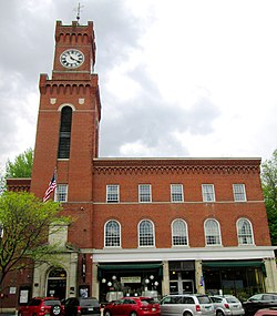 Rockingham Town Hall Which Holds The Opera House Was Built In 1926 On Square And Is Part Of Bellows Falls Downtown Historic District