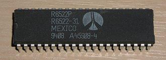 MOS Technology 6522 - Rockwell 6522 VIA