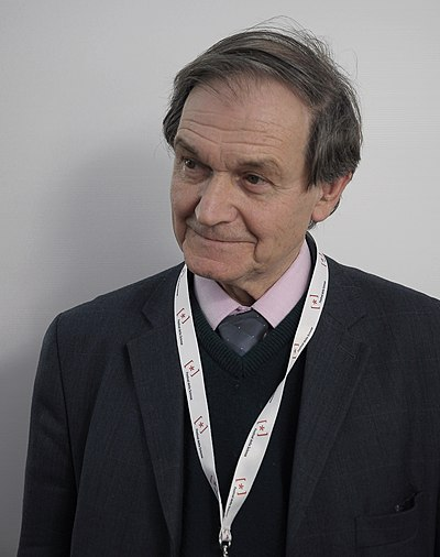 Picture of an author: Roger Penrose