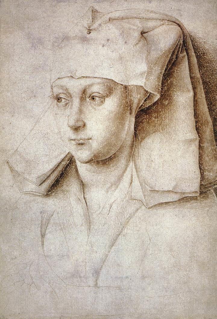Rogier van der Weyden - Portrait of a Young Woman - WGA25729