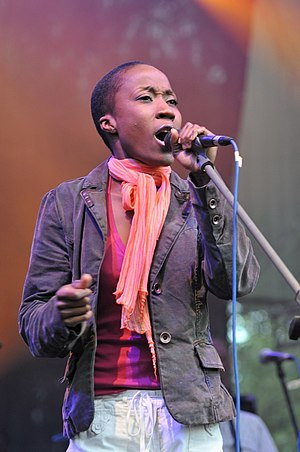 Rokia Traoré - Traoré at INmusic festival in 2009.