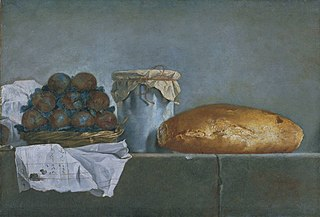 Still Life with Fruit and Bread