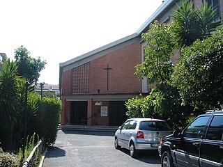 Preziosissimo Sangue di Nostro Signore Gesù Cristo church building in Rome, Italy