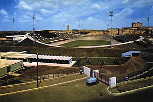 Olympic Velodrome, Rome - Velodromo Olimpico, pictured in 1960