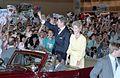 Ron Nancy Reagan Wave New Orleans Convention Center 1988.jpg