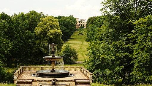 Rossbrunnen und Ruinenberg - Park Sanssouci - Potsdam - panoramio