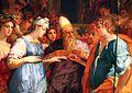 Rosso fiorentino, sposalizio della vergine e santi, 1523, 03.jpg