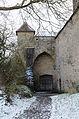 Rothenburg ob der Tauber, Stadtmauer, zwischen Würzburger Tor und Kummereck, Feldseite, 002.jpg