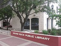 Round Rock, TX, Public Library IMG 4064