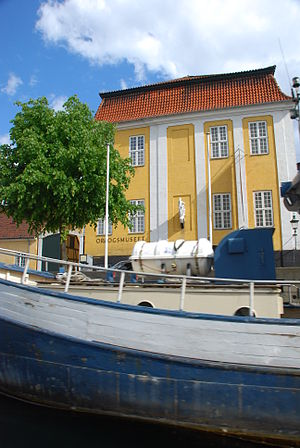 Royal Danish Naval Museum - The wing with the Naval Museum