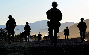 Volunteer Reserves (United Kingdom) - Royal Marines Reservists on exercise during 2013