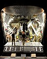 Royal Navy Sea King Mk 4 Helicopter is Loaded onto a RAF C17 Transport Aircraft in Afghanistan MOD 45153322.jpg