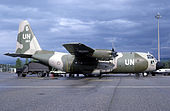 Royal Norwegian Air Force Lockheed C-130 at Basel in 1984.jpg