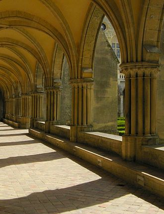 Royaumont Abbey - Cloister of Royaumont Abbey