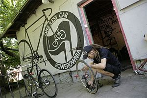 Rozbrat rowerownia
