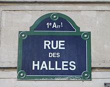 Rue des halles paris wikimonde - Lapeyre rue des halles ...
