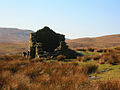 Ruined shepherd's (^) cottage on Nan Hill - geograph.org.uk - 114380.jpg