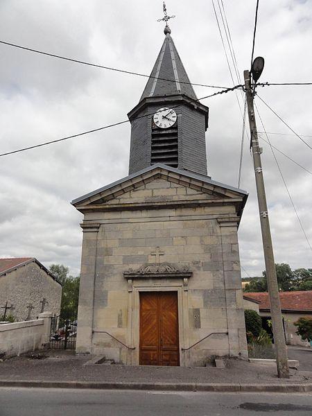 Rumont (Meuse) église churches in Meuse