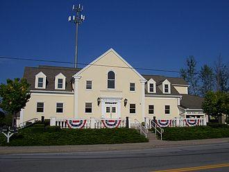 Rush, New York - Rush town hall