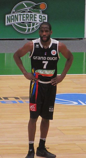 Ryan Brooks - Brooks with JDA Dijon in 2017