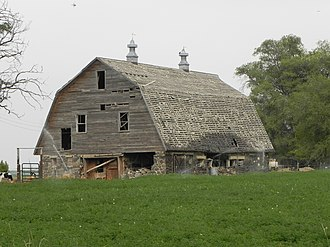 National Register of Historic Places listings in Lincoln County, Idaho - Image: S.A. Bate Barn and Chicken House