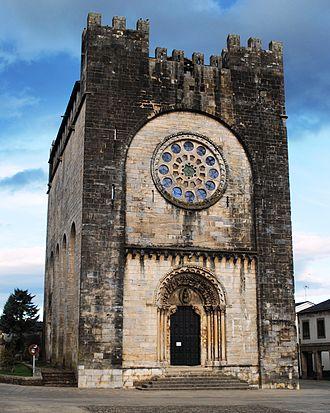 Portomarín - Church moved brick-by-brick