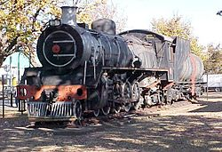 SAR Class 19D 2696 4-8-2 in Volksrust (2005)