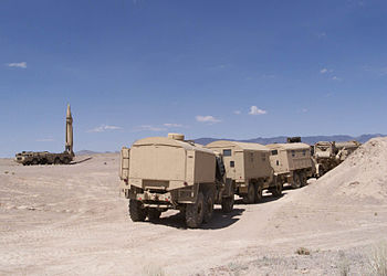 SCUD missle launcher with support vehicles (2000).JPEG
